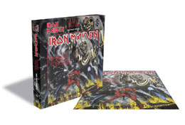 IRON MAIDEN PUZZLE THE NUMBER OF THE BEAST 500 PIECES