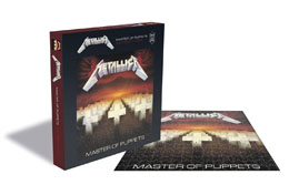 METALLICA PUZZLE MASTER OF PUPPETS