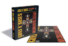 GUNS N' ROSES PUZZLE APPETITE FOR DESTRUCTION 2 / 500 PIÈCES