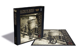 GUNS N' ROSES PUZZLE CHINESE DEMOCRACY / 500 PIÈCES