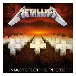 METALLICA ROCK SAWS PUZZLE MASTER OF PUPPETS (1000 PIÈCES)