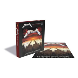 Photo du produit METALLICA ROCK SAWS PUZZLE MASTER OF PUPPETS (1000 PIÈCES) Photo 1