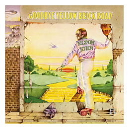 ELTON JOHN ROCK SAWS PUZZLE GOODBYE YELLOW BRICK ROAD (1000 PIÈCES)