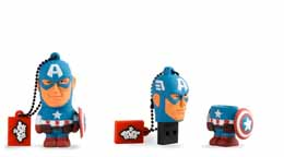 Photo du produit MARVEL COMICS CLE USB CAPTAIN AMERICA 16 GO Photo 1