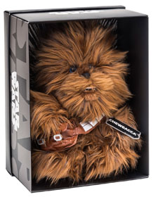 STAR WARS PELUCHE BLACK LINE CHEWBACCA 25 CM