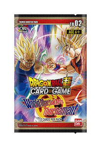 DRAGON BALL SCG SEASON 2 24 BOOSTERS + PRÉSENTOIR WORLD MARTIAL ARTS TOURNAMENT