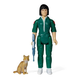Photo du produit ALIENS WAVE 3 FIGURINE REACTION RIPLEY WITH JONESY (BLUE CARD) 10 CM - SUPER Photo 1