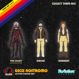 Photo du produit ALIEN PACK 3 FIGURINES REACTION PACK C Photo 1