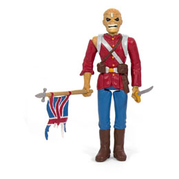 IRON MAIDEN FIGURINE SUPER7 REACTION THE TROOPER 10 CM