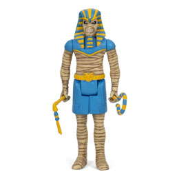 IRON MAIDEN FIGURINE SUPER7 REACTION POWERSLAVE 10 CM