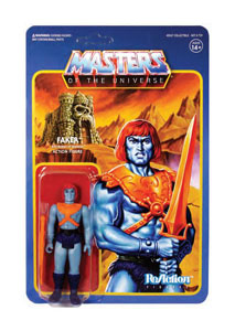 MASTERS OF THE UNIVERSE WAVE 4 FIGURINE REACTION FAKER