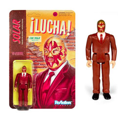 LEGENDS OF LUCHA LIBRE FIGURINE REACTION SOLAR IN SUIT  / SUPER7