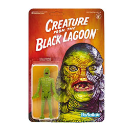 UNIVERSAL MONSTERS FIGURINE REACTION CREATURE FROM THE BLACK LAGOON 10 CM