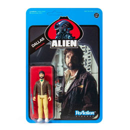 ALIENS WAVE 3 FIGURINE REACTION DALLAS (BLUE CARD) 10 CM - SUPER7