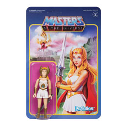MASTERS OF THE UNIVERSE WAVE 5 FIGURINE REACTION SHE-RA 10 CM