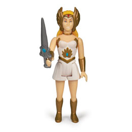 Photo du produit MASTERS OF THE UNIVERSE WAVE 5 FIGURINE REACTION SHE-RA 10 CM Photo 1