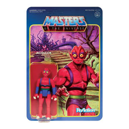 MASTERS OF THE UNIVERSE WAVE 5 FIGURINE REACTION MODULOK A 10 CM