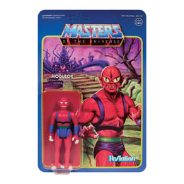 MASTERS OF THE UNIVERSE WAVE 5 FIGURINE REACTION MODULOK B 10 CM