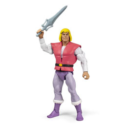 MASTERS OF THE UNIVERSE CLASSICS FIGURINE CLUB GRAYSKULL WAVE 4 PRINCE ADAM 18 CM