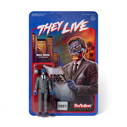 INVASION LOS ANGELES FIGURINE REACTION MALE GHOUL - SUPER7