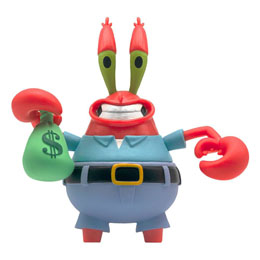 BOB L´ÉPONGE FIGURINE REACTION MR. KRABS 10 CM - SUPER7