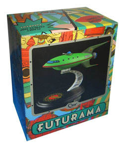 Photo du produit FUTURAMA REPLIQUE MINI MASTERS PLANET EXPRESS SHIP LC EXCLUSIVE 12 CM Photo 1