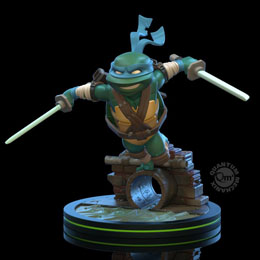 TORTUES NINJA FIGURINE Q-FIG LEONARDO 13 CM