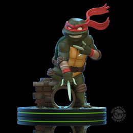 TORTUES NINJA FIGURINE Q-FIG RAPHAEL 13 CM