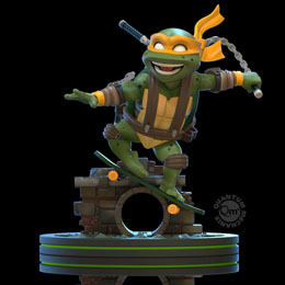 TORTUES NINJA FIGURINE Q-FIG MICHELANGELO 13 CM