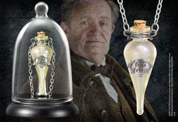 Harry Potter pendentif Felix Felicis avec présentoir
