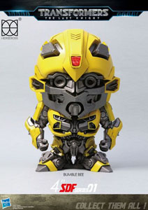 TRANSFORMERS LE DERNIER CHEVALIER FIGURINE SUPER DEFORMED BUMBLEBEE