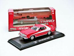 STARSKY & HUTCH 1/43 1976 FORD GRAN TORINO MÉTAL