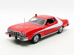 Photo du produit STARSKY & HUTCH 1976 GRAN TORINO 1/24 MÉTAL Photo 1