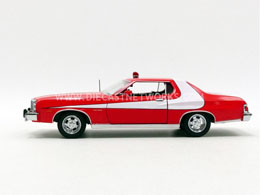 Photo du produit STARSKY & HUTCH 1976 GRAN TORINO 1/24 MÉTAL Photo 2