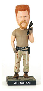 FIGURINE ROYAL BOBBLES WALKING DEAD BOBBLE HEAD ABRAHAM