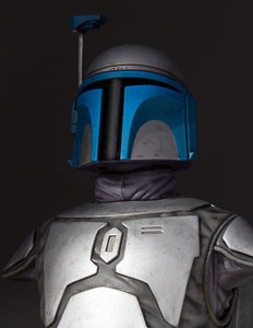 Photo du produit STAR WARS GENTLE GIANT BUSTE 1/6 JANGO FETT 19 CM Photo 4