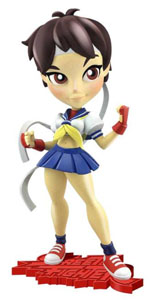 STREET FIGHTER SÉRIE 1 FIGURINE KNOCKOUTS SAKURA 18 CM