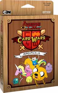 ADVENTURE TIME CARD WARS HERO PACK #1 - (ANGLAIS)