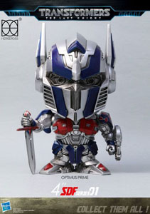 TRANSFORMERS LE DERNIER CHEVALIER FIGURINE SUPER DEFORMED OPTIMUS PRIME