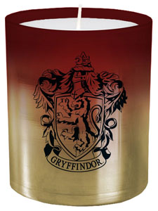 HARRY POTTER BOUGIE VERRE GRYFFINDOR