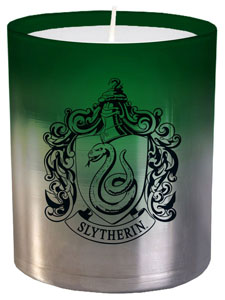 HARRY POTTER BOUGIE VERRE SLYTHERIN