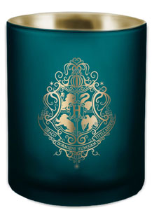 HARRY POTTER BOUGIE VERRE HOGWARTS