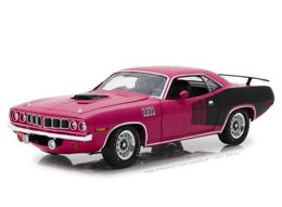 60 SECONDES CHRONO 1971 PLYMOUTH HEMI CUDA 1/18 METAL