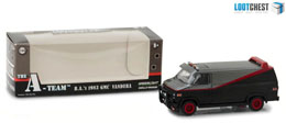 A-TEAM 1983 GMC VANDURA 1/64 MÉTAL LOOTCHEST EXCLUSIVE