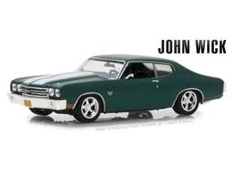 JOHN WICK 2 1970 CHEVROLET CHEVELLE SS396 1/43 MÉTAL
