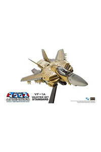 Photo du produit MACROSS RETRO TRANSFORMABLE COLLECTION FIGURINE 1/100 VF-1A VALKYRIE 13 CM Photo 1