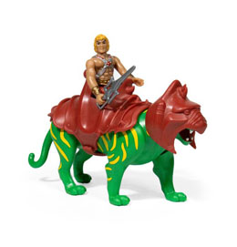 MASTERS OF THE UNIVERSE PACK 2 FIGURINES REACTION HE-MAN & BATTLECAT 10 CM