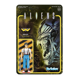 ALIENS WAVE 1 FIGURINE REACTION RIPLEY 10 CM - SUPER7