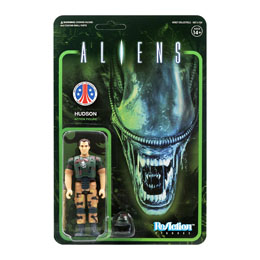 ALIENS WAVE 1 FIGURINE REACTION HUDSON 10 CM - SUPER7