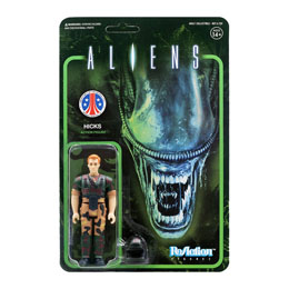 ALIENS WAVE 1 FIGURINE REACTION HICKS 10 CM - SUPER7